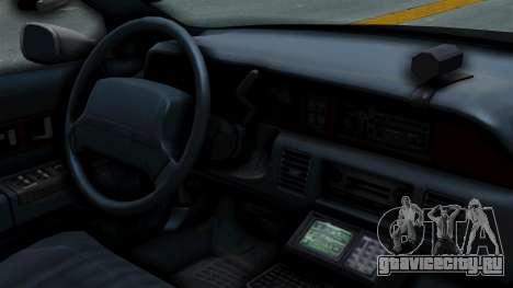 Chevrolet Caprice 1991 CRASH Division для GTA San Andreas вид справа