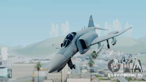 F-4E Phantom II Royal Noord-Hollandian Air Force для GTA San Andreas