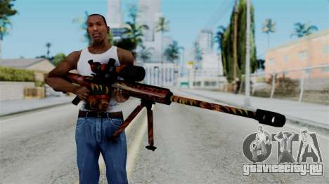 Barret 50.cal Phoenix для GTA San Andreas третий скриншот