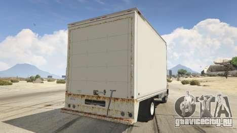 Chevrolet G-30 Cube Truck для GTA 5 вид сзади слева