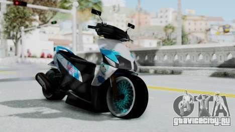 Honda Vario 110 Hatsune Miku Itansha для GTA San Andreas