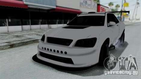 GTA 5 Karin Sultan RS Drift Double Spoiler PJ для GTA San Andreas салон