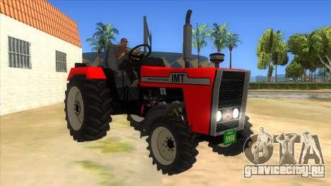 IMT Traktor для GTA San Andreas вид сзади