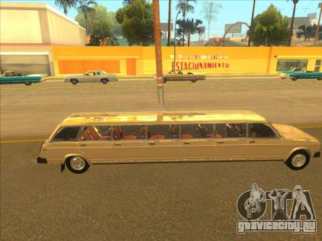 VAZ 2104 13-door для GTA San Andreas вид сзади