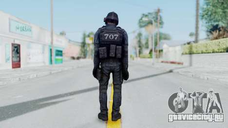 707 No Mask from CSO2 для GTA San Andreas третий скриншот
