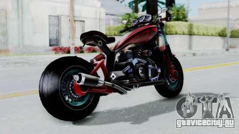Turbike 3.0 для GTA San Andreas вид слева