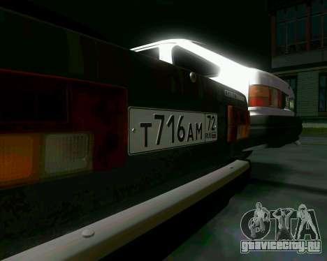 Ваз 2107 Бродяга для GTA San Andreas вид сзади
