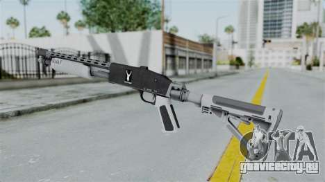 GTA 5 Pump Shotgun - Misterix 4 Weapons для GTA San Andreas второй скриншот