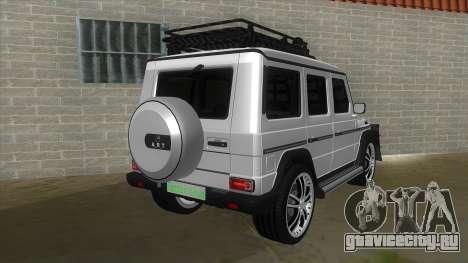 Mercedes-Benz G55 Response для GTA San Andreas вид справа