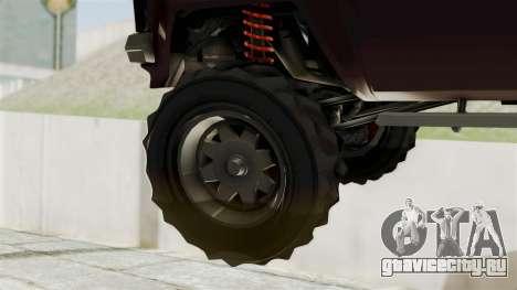 GTA 5 Karin Technical Cleaner IVF для GTA San Andreas вид сзади слева