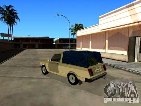 ВАЗ 2104 Пикап для GTA San Andreas вид справа