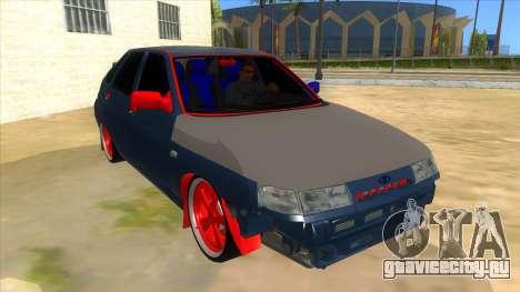 ВАЗ 2112 Бродяга для GTA San Andreas вид сзади
