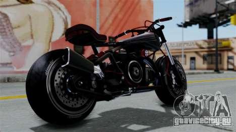 Turbike 2.0 для GTA San Andreas вид слева
