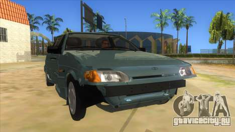 ВАЗ 2113 перевертыш для GTA San Andreas вид сзади