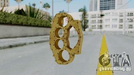 The Ballas Knuckle Dusters from Ill GG Part 2 для GTA San Andreas второй скриншот