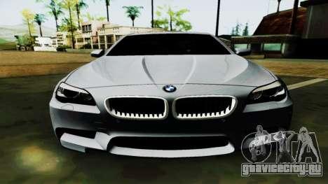BMW M5 F10 для GTA San Andreas вид сбоку