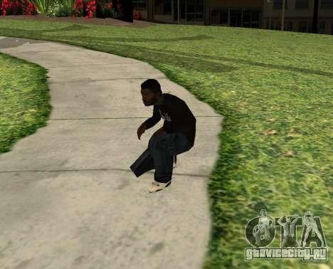 Black Madd Dogg (Thug life) для GTA San Andreas третий скриншот