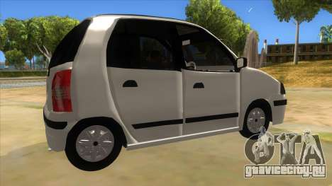 Hyundai Atos 2006 для GTA San Andreas вид справа