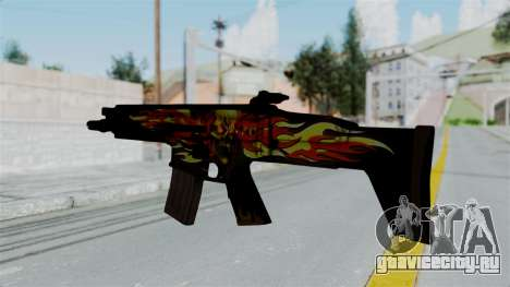 SCAR-L Extra PJ для GTA San Andreas второй скриншот