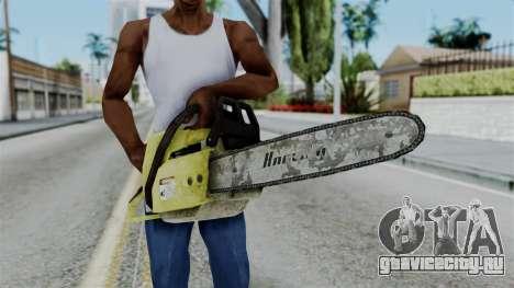 No More Room in Hell - Chainsaw для GTA San Andreas третий скриншот