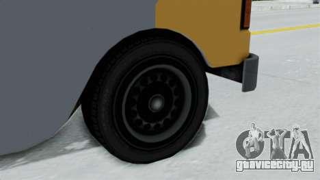 GTA 5 Tacovan для GTA San Andreas вид сзади слева