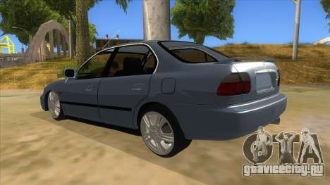 Honda Accord Sedan 1997 для GTA San Andreas вид сзади слева