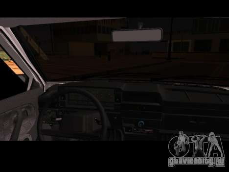 Ваз 21099 Без Посадки Авто Net для GTA San Andreas вид справа