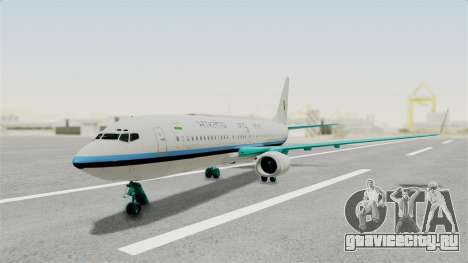 Boeing 737-800 Business Jet Indian Air Force для GTA San Andreas