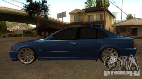 BMW M5 e39 для GTA San Andreas вид слева
