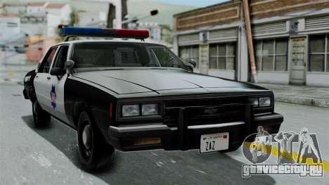 Chevrolet Impala 1985 SFPD для GTA San Andreas
