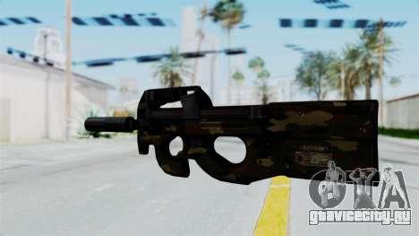 P90 Camo1 для GTA San Andreas второй скриншот