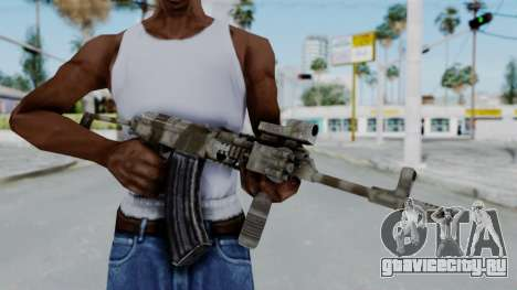 Arma OA AK-47 Eotech для GTA San Andreas третий скриншот
