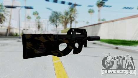 P90 Camo2 для GTA San Andreas второй скриншот