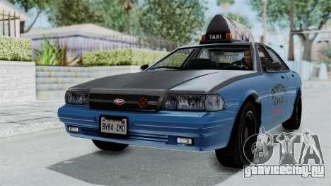 GTA 5 Vapid Stanier II Taxi для GTA San Andreas