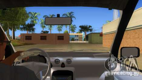 Hyundai Atos 2006 для GTA San Andreas вид изнутри