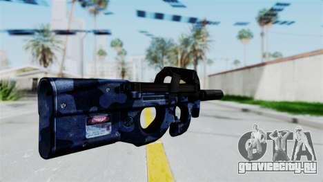 P90 Camo3 для GTA San Andreas второй скриншот