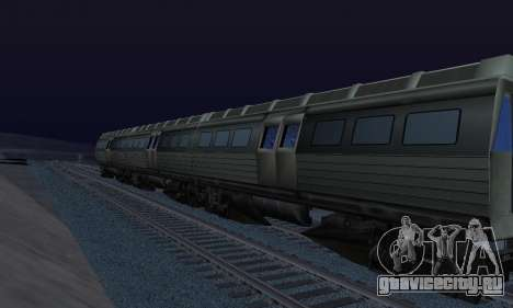 Batman Begins Monorail Train Vagon v1 для GTA San Andreas