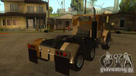 GTA V HVY Barracks Semi для GTA San Andreas вид справа