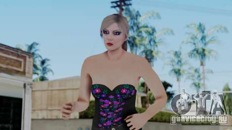 Female Skin 1 from GTA 5 Online для GTA San Andreas
