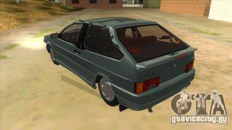 ВАЗ 2113 перевертыш для GTA San Andreas вид сзади слева
