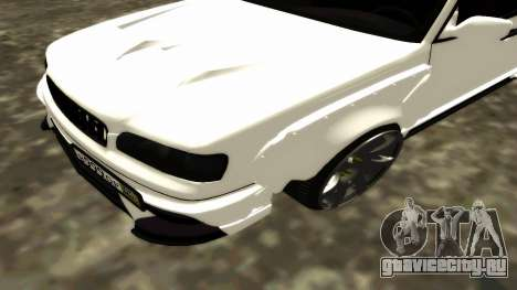 Nissan Cedric WideBody для GTA San Andreas вид сверху