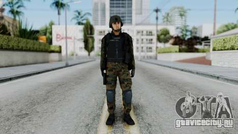 Serbian Zandarmerija для GTA San Andreas второй скриншот