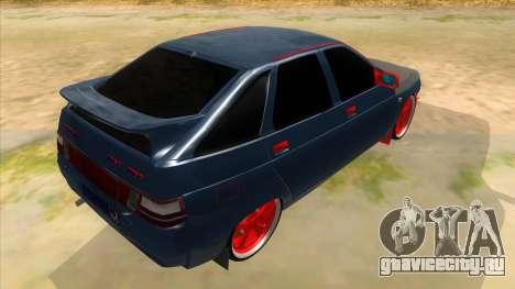 ВАЗ 2112 Бродяга для GTA San Andreas вид справа