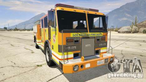 Los Angeles Fire Truck для GTA 5