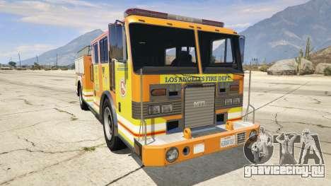 Los Angeles Fire Truck для GTA 5