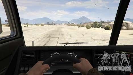 Los Angeles Fire Truck для GTA 5 вид сзади
