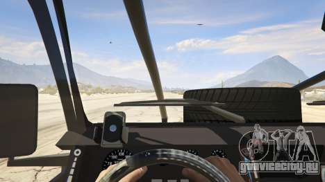 Land Rover 110 Pickup Armoured для GTA 5 вид сзади