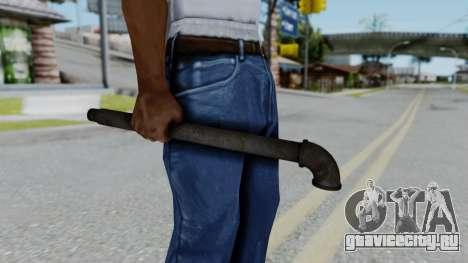 No More Room in Hell - Lead Pipe для GTA San Andreas третий скриншот