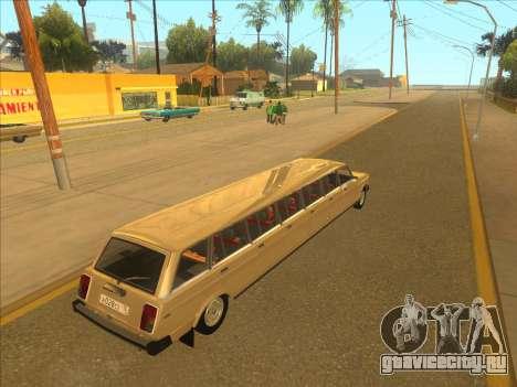 VAZ 2104 13-door для GTA San Andreas вид справа