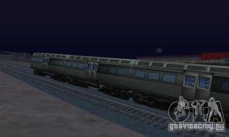 Batman Begins Monorail Train Vagon v1 для GTA San Andreas вид справа